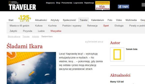 FLY 2 LIVE na stronie w TRAVELERZE