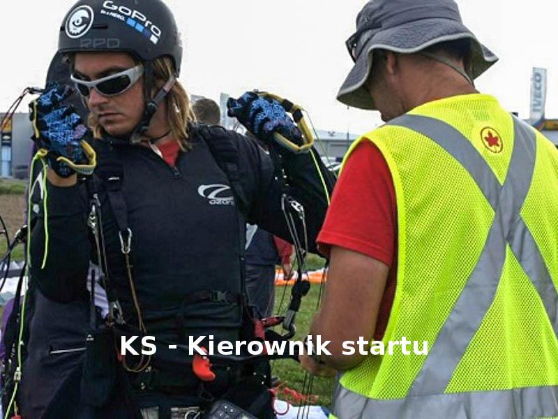KS – Kierownik startu