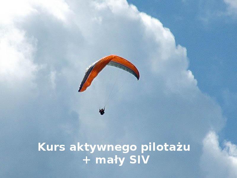 Kurs aktywnego pilotażu + Mały SIV